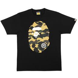 BAPE 1st Camo Big Ape T-Shirt Blk/Yel