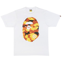 BAPE 1st Camo Big Ape T-Shirt Wht/Org