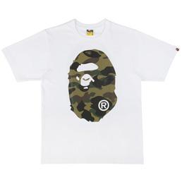 BAPE 1st Camo Big Ape T-Shirt Wht/Grn
