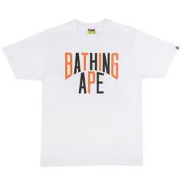 BAPE Colors NYC Logo T-Shirt White