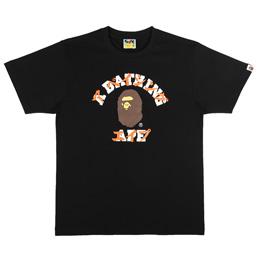 BAPE Katakana College T-Shirt Black