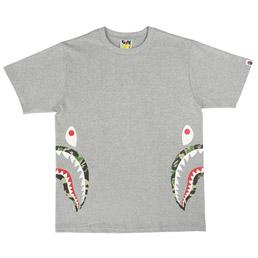 BAPE ABC Side Shark T-Shirt Grey/ Green