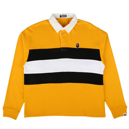 BAPE Relax Silhouette Rugby Yellow