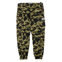 BAPE 1st Camo Jogger Pants Green
