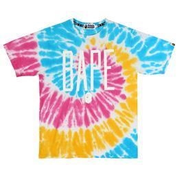 BAPE Tie Dye T-Shirt Multi