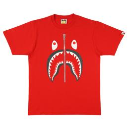 BAPE Shark T-Shirt Red