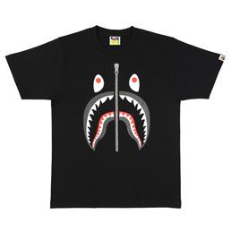 BAPE Shark T-Shirt Black