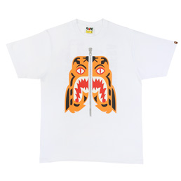 BAPE Tiger T-Shirt White