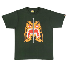 BAPE Tiger T-Shirt Green