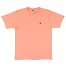 BAPE Ape Head One Point T-Shirt Pink