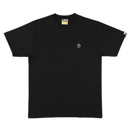 BAPE Ape Head One Point T-Shirt Black