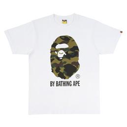 BAPE 1st Camo By Bathing T-Shirt Wht/Grn
