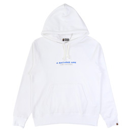 BAPE Network Pullover Hoodie White