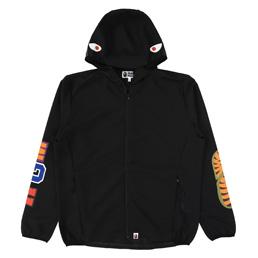 BAPE Shark Hoodie Jacket Black