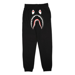 BAPE Shark Slim Sweat Pants Black