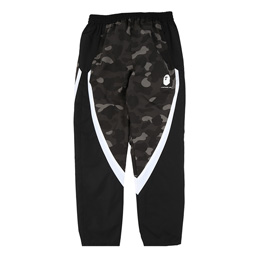 BAPE Color Camo Block Pants Black
