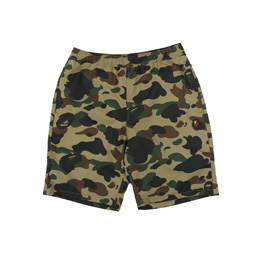 BAPE 1st Camo Beach Pants Green
