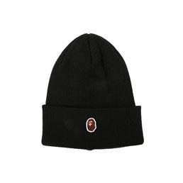 BAPE Ape Head One Point Cap Black