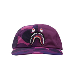 BAPE Color Camo Shark Panel Purple