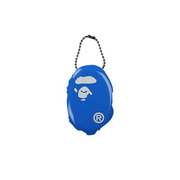 BAPE Ape Head Coin Case Blue