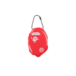 BAPE Ape Head Coin Case Pink
