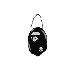 BAPE Ape Head Coin Case Black
