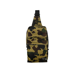 BAPE Porter 1st Camo Shoulder Bag Green
