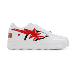 BAPE Shark Bape Sta Low White