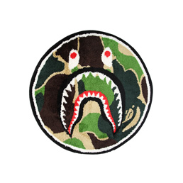 BAPE ABC Shark Rug - Green