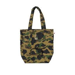 BAPE 1st Camo Packable Tote Bag - Green