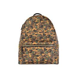 BAPE MCM X Bape MCM Camo Stark Backpack - Brown