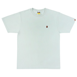 BAPE Ape Head One Point Tee  - Sax
