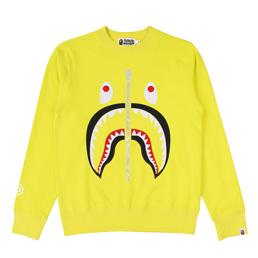 BAPE Shark Crewneck - Yellow
