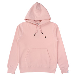 BAPE One Point Pullover Hoodie  - Pink
