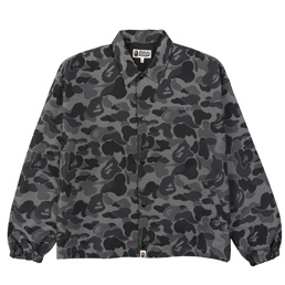 BAPE ABC Camo Relaxed Coach Jacket  - Black