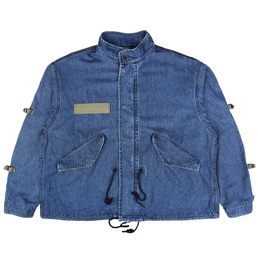 Flagstuff Mods Jacket Wash Denim Navy