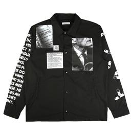 Flagstuff Acid Coach Jacket Black
