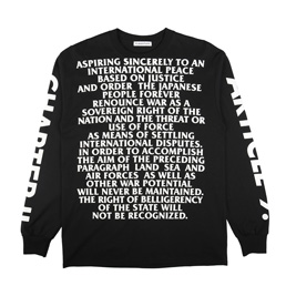 Flagstuff Article 9 L/S T-Shirt Black