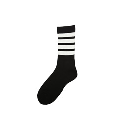 Flagstuff 4 Line Sox Black/ White