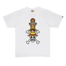 BAPE Luffy & Chopper x Milo T-Shirt #2 White