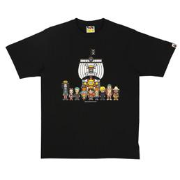 BAPE Thousand Sunny T-Shirt Black