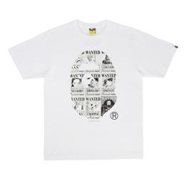 BAPE Onepiece Bounties Ape Head T-Shirt White