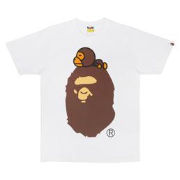 BAPE Milo On Big Ape T-Shirt White