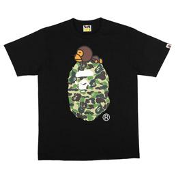 BAPE ABC Milo On Big Ape T-Shirt Blk/ Grn
