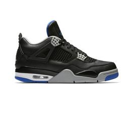 Air Jordan 4 Retro - Black/Game Royal Matte