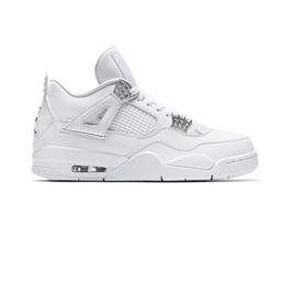 Air Jordan 4 Retro - White/Met. Silver