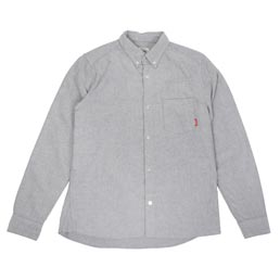 FUCT SSDD Oxford Shirt Grey