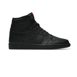 Jordan 1 Retro Hi - Black/Uni Red