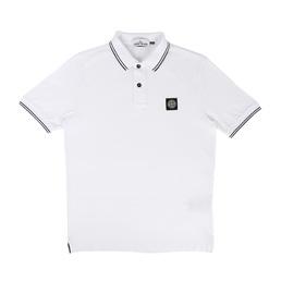 Stone Island Polo Shirt Bianco