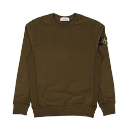 Stone Island Crewneck Sweatshirt Military